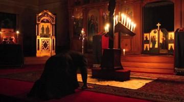 Eastern praying